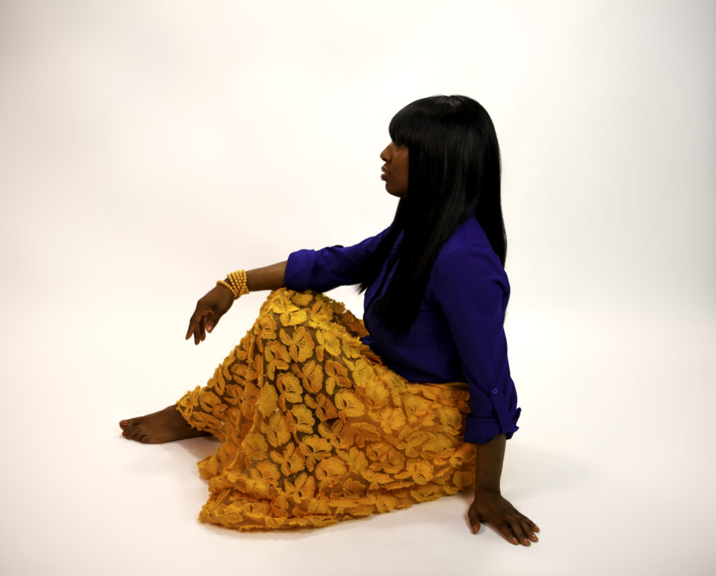 Shalamar Gold Skirt